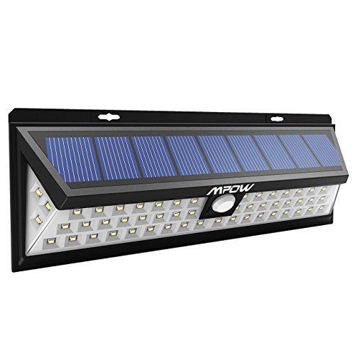 Mpow Lampe solaire 54 LED extérieure étanche IP65 sans fil 800 ...