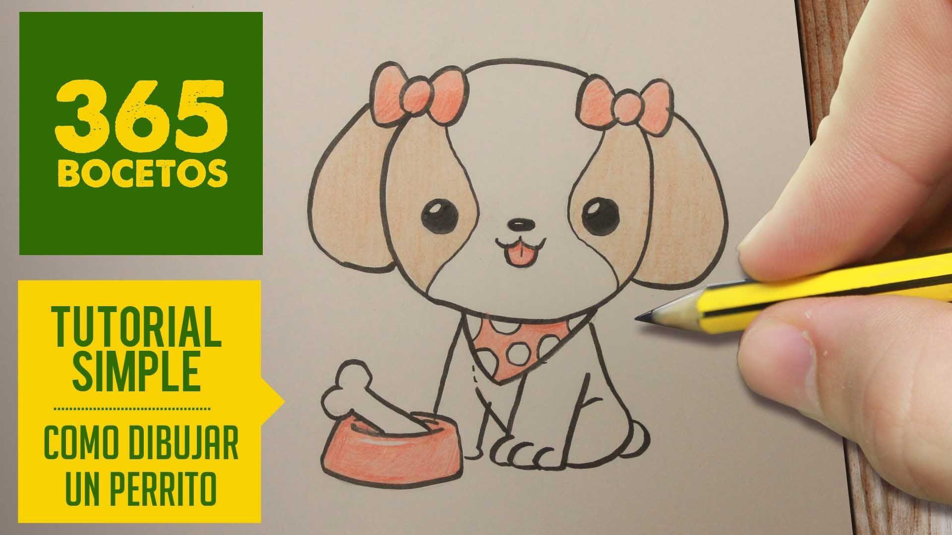 Imagenes De Perritos Faciles De Dibujar Para Fondo De Pantalla En