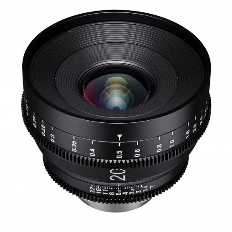 XEEN Cinema 20/1,9 Canon EF full frame #toneartshop #objektiv ...