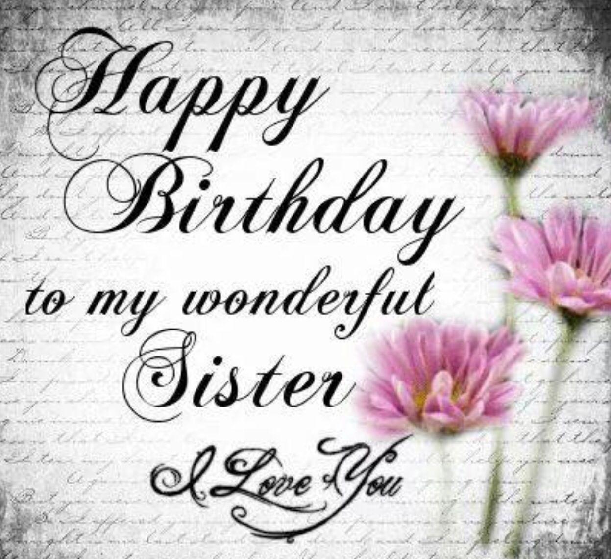 Pin By Rosa Galvan On Birthday Happy Birthday Pictures Birthday Blessings Happy Birthday Sis