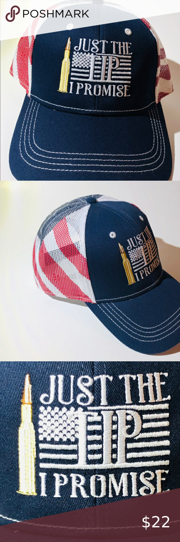 Just The Tip I Promise Mesh Style Ball Cap Ball Cap Cap I Promise