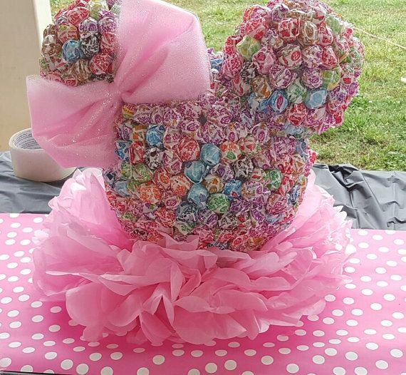Items similar to Minnie Mouse Dum Dum Head on Etsy
