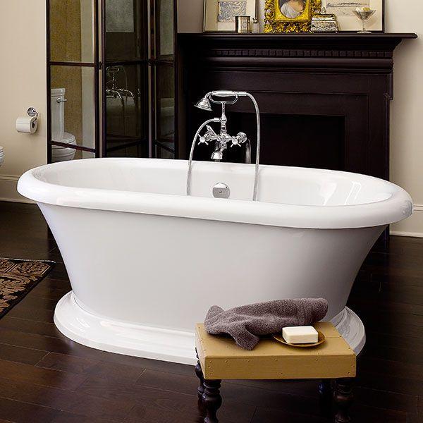 DXV St. George Freestanding Soaking Tub Classic Room Scene | My ...
