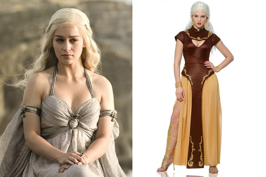 "Costume Idea: Khaleesi (Emilia Clarke) from ""Game of ..."