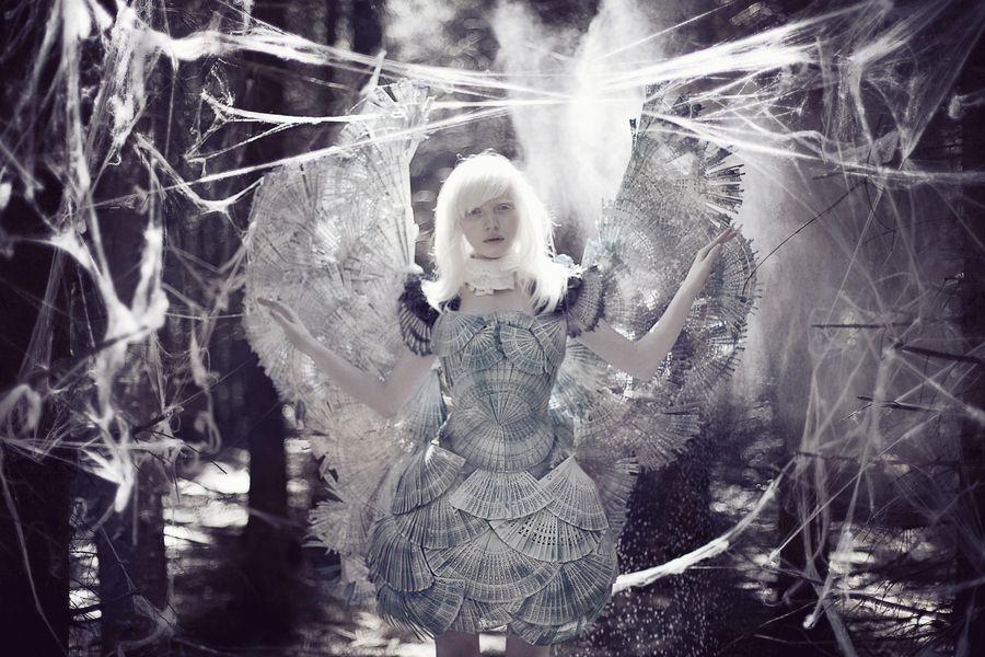 snow-white butterfly by Lady Zabiyaka, via 500px