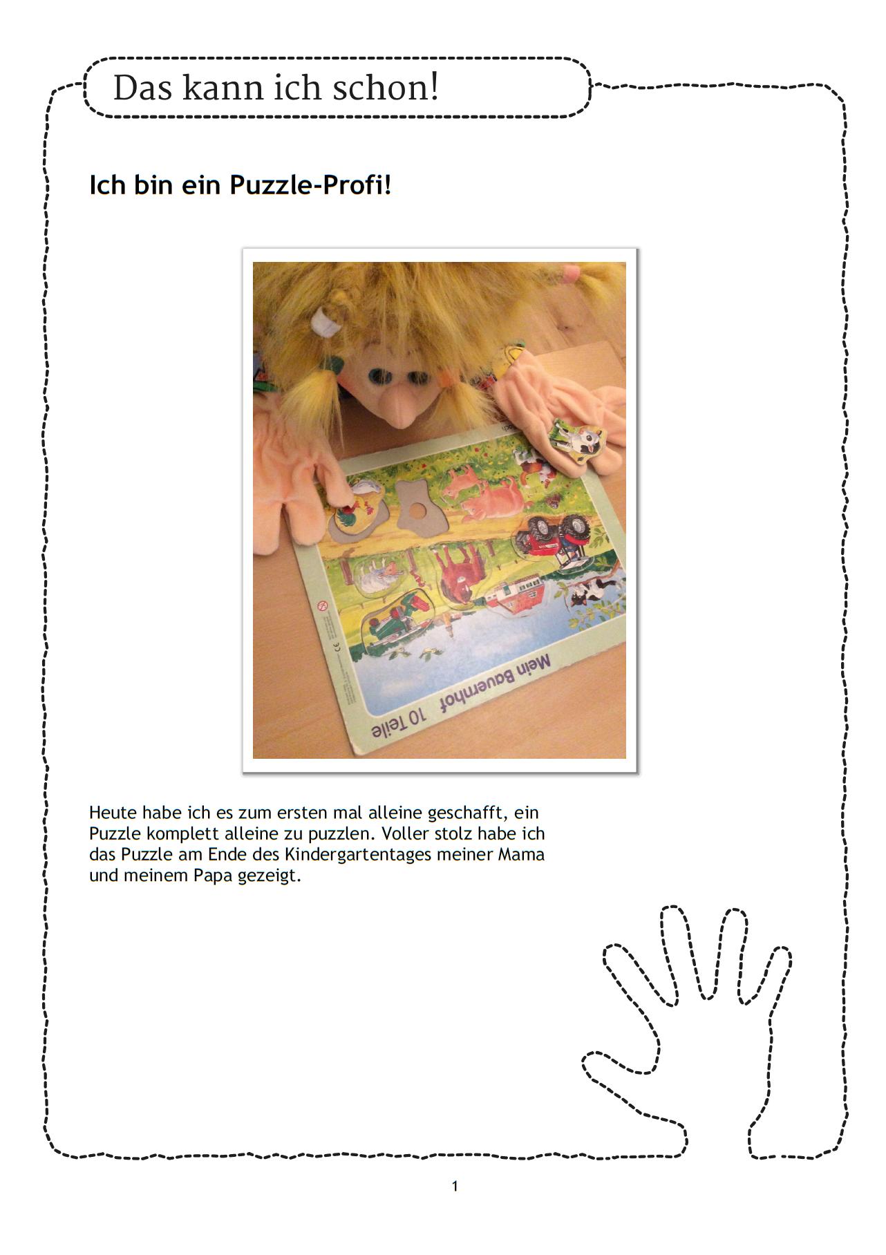 Viele Kinder Puzzeln Gern Sie Sind Stolz Darauf Wenn Sie Ganz Alleine Ein Puzzel Geschafft Haben Wie Schon Ist Es Entwicklung Kleinkind Puzzel Vorschulbuch