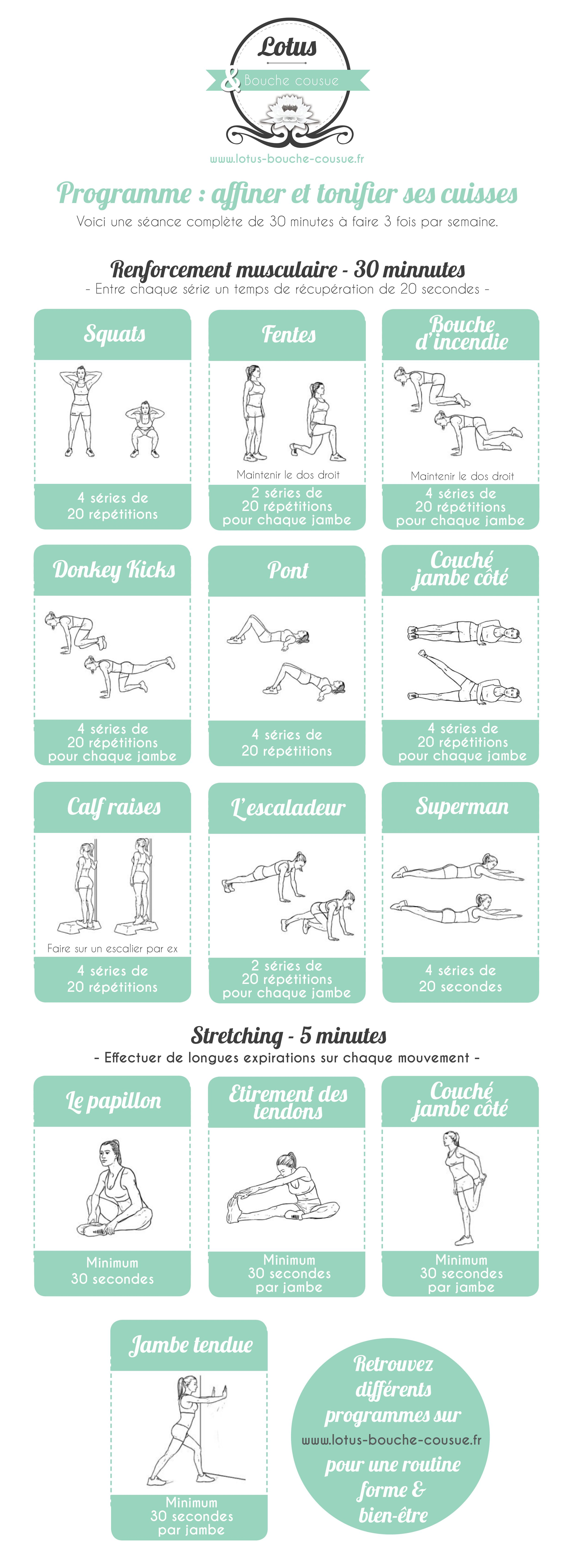 yoga fitness flow programme affiner et tonifier ses cuisses get your sexiest body ever. Black Bedroom Furniture Sets. Home Design Ideas