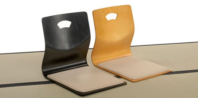 Superieur Zenisu Chair. Traditional Japanese Chair Without Legs For Use On The Tatami.