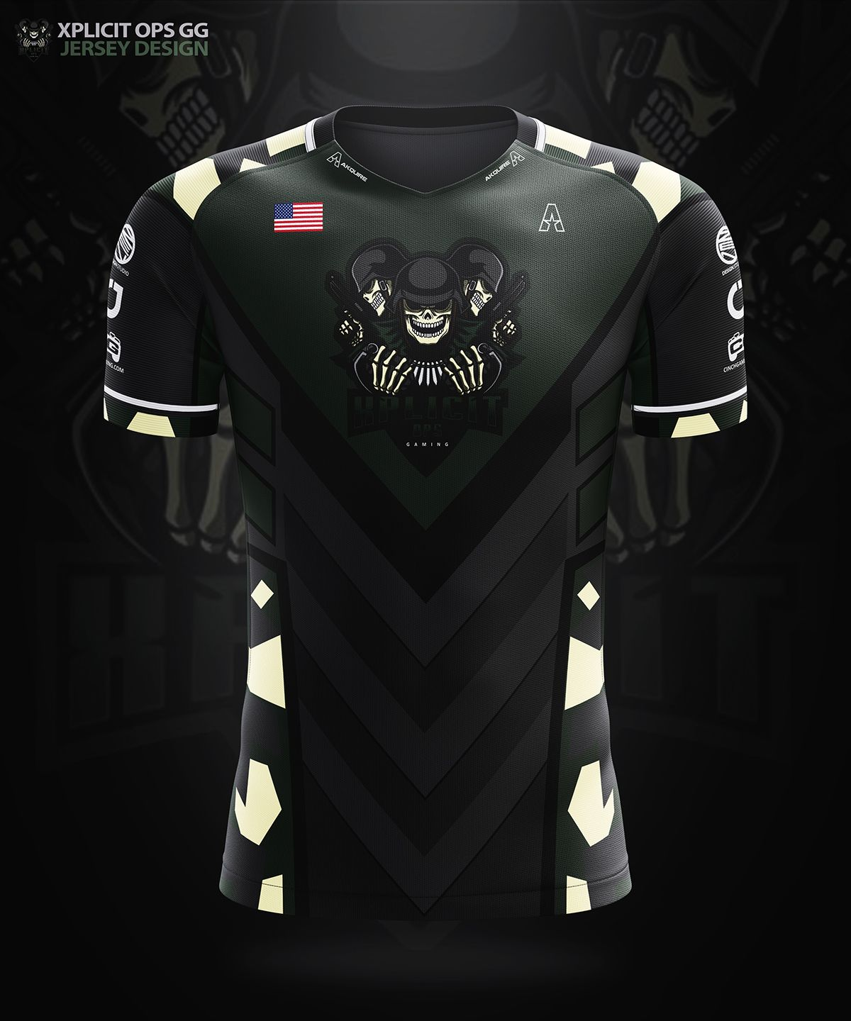 Akquire Clothing Co Esports Team Jersey Designs On Behance Sports Jersey Design Jersey Design Volleyball Jersey Design