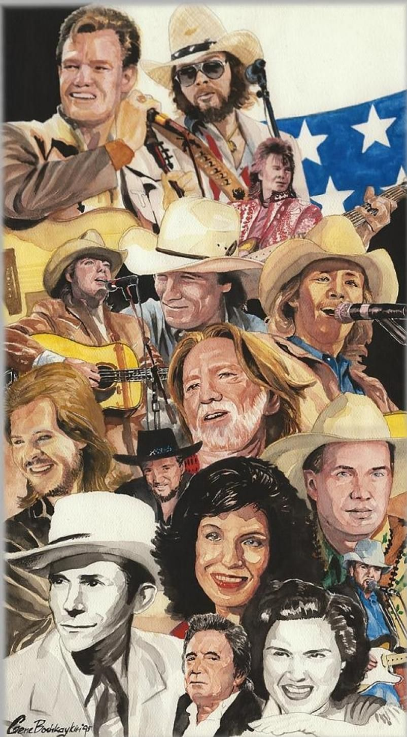 Great singers great music. Old country music, Country