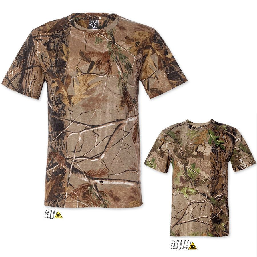 257f063b Mens Realtree Camo T Shirt s 2XL Camouflage Bow Hunting Tee 3980 New | eBay