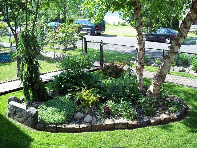 5 Cute Rock Garden Front Yard
