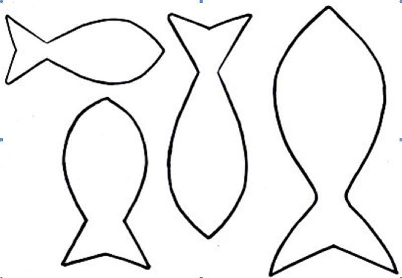 Gabarit Poisson Modèle De Poisson Artisanat De Couture Et