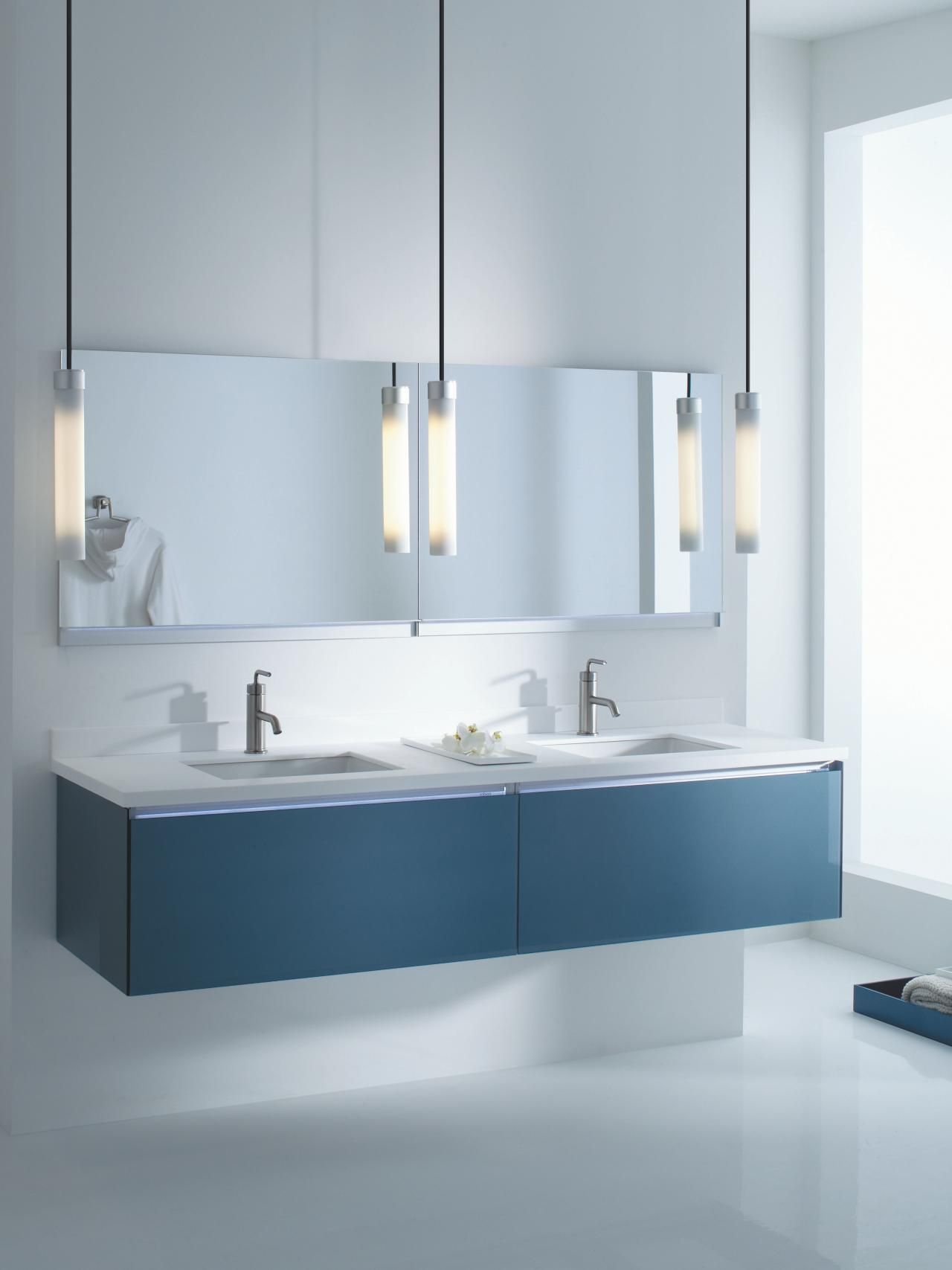 Bathroom Vanity Colors and Finishes | Modern baths, Double vanity ...