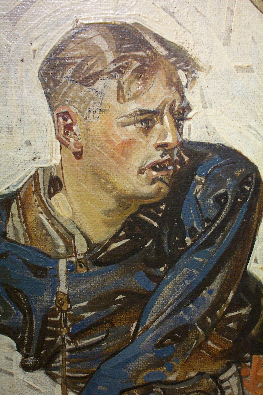 Leyendecker Original Oil Painting Illustration Art