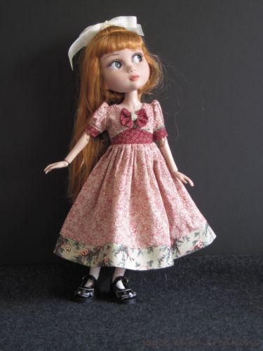 "Cranberry Green Winter Dress Handmade FOR14"" Tonner Patience BJD by JEC | eBay"