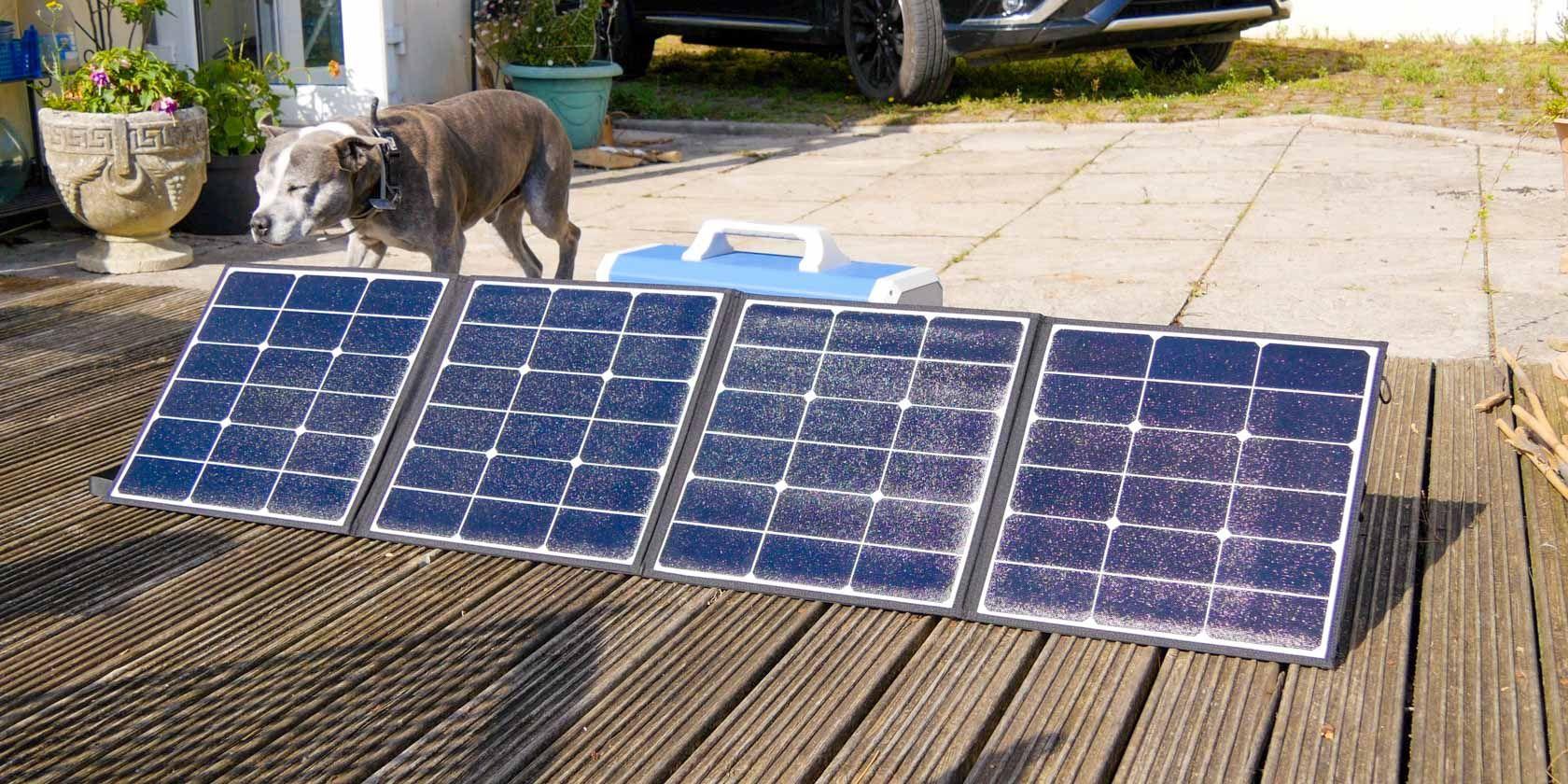 Portable Powerful Solar Panel Maxoak Sp120 Review In 2020 Portable Battery Pack Portable Solar Panels Solar Panels