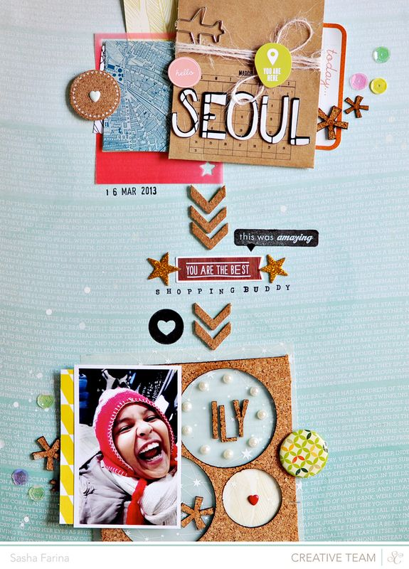 Scrapbooking Kits, Paper & Supplies, Ideas & More at StudioCalico.com! ~Sasha Farina