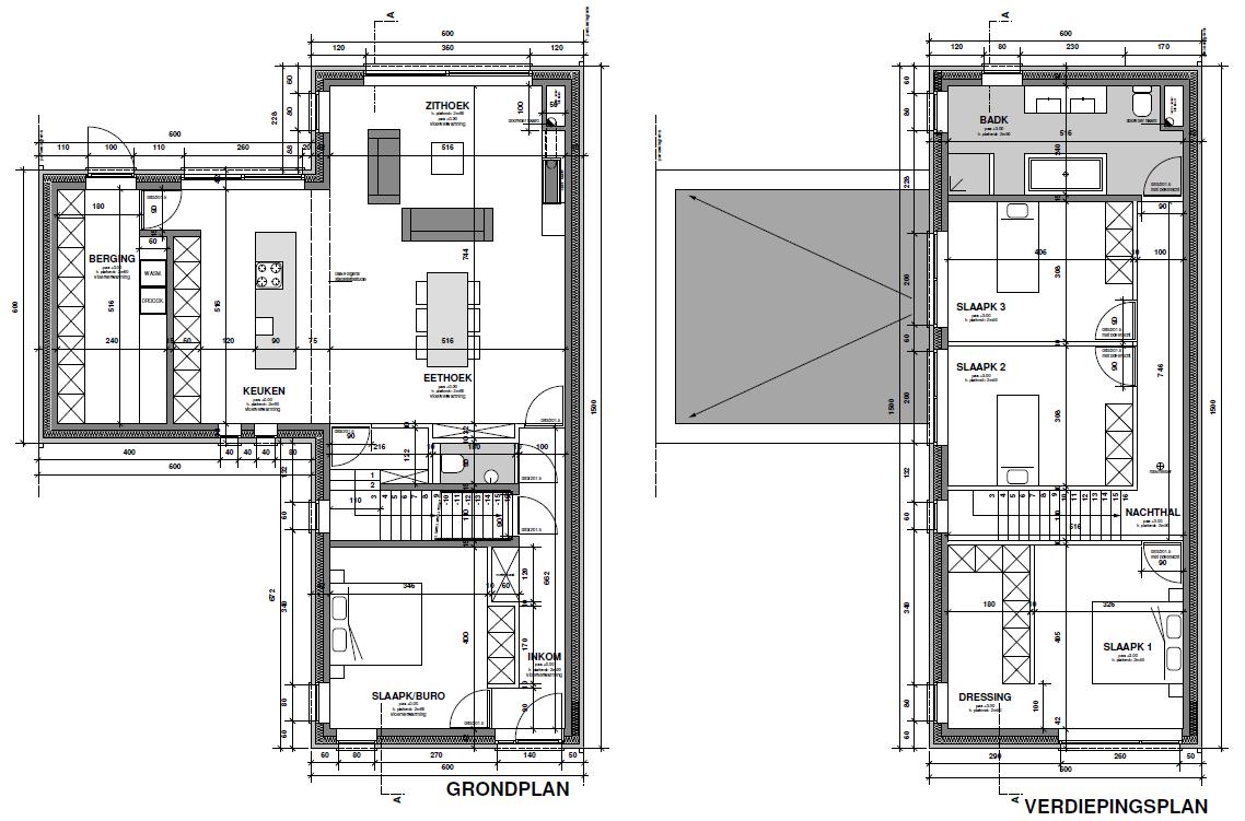 Afbeeldingsresultaat voor woning indeling l vorm home for Woning indeling