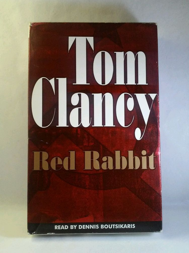 Red Rabbit by Tom Clancy (2002, Cassette)