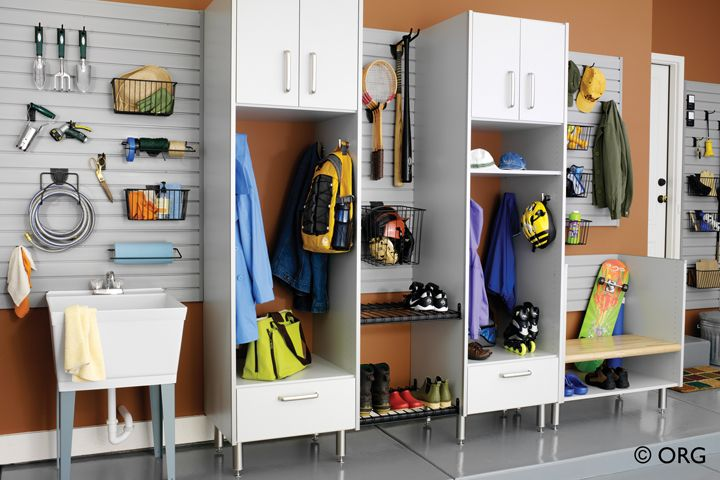 Organized Spaces: The Coat Closet For Hunting And Fishing Gear