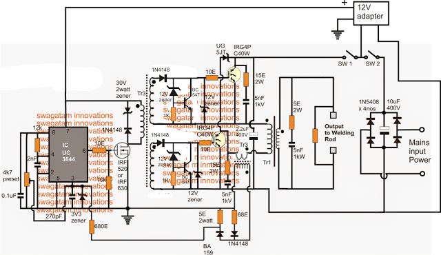 Inverter Diagram Archives Page 4 Of 6 Inverter Circuit And - Your