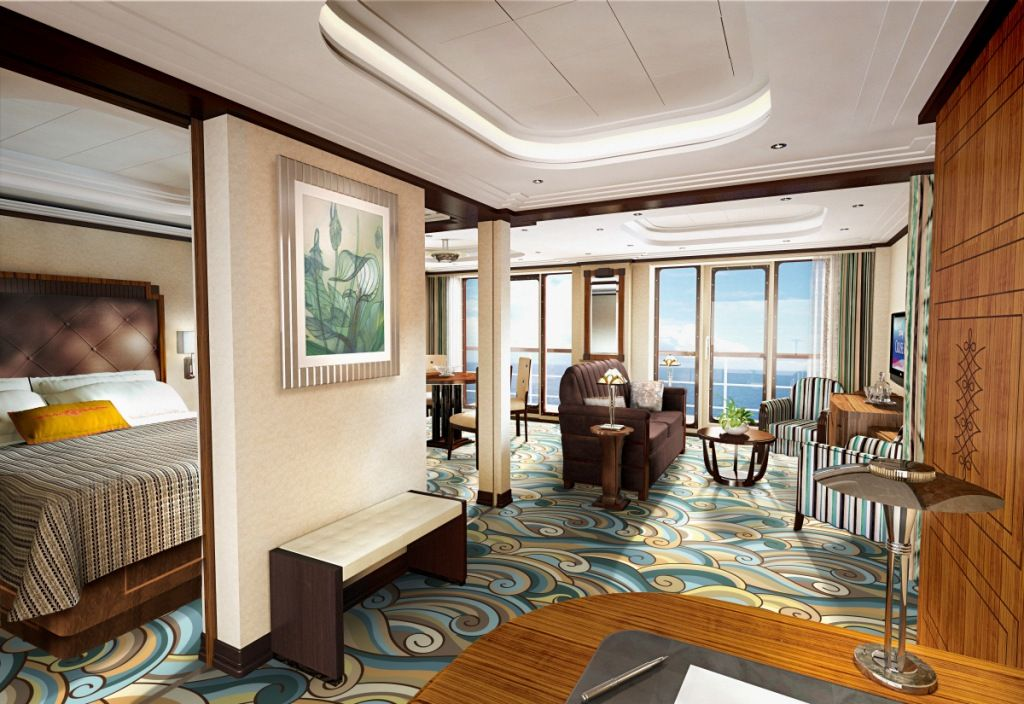 Disney Cruise Line Fantasy Royal Suite My Style If