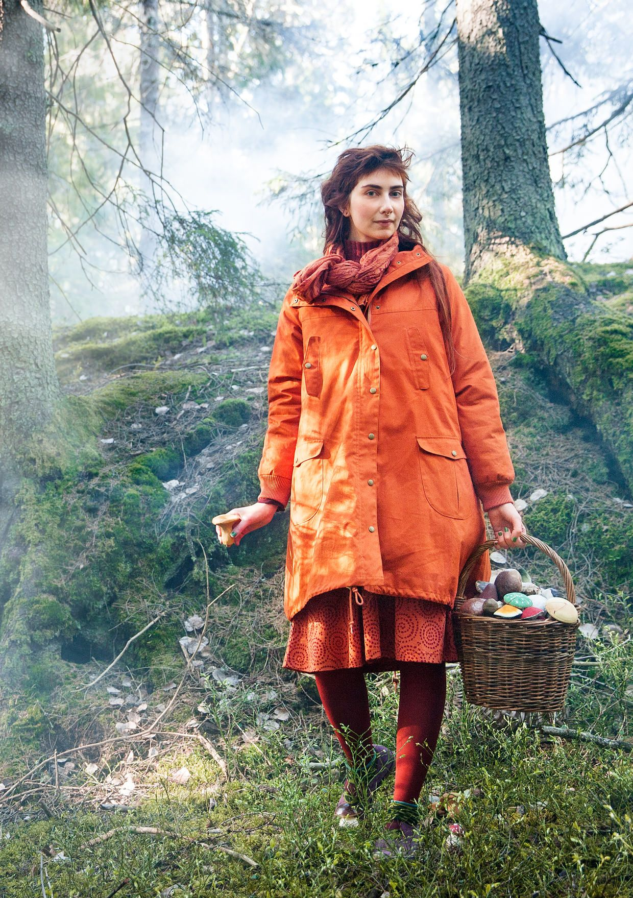 5bc4afc5df80 Parka in cotton – Lost in the ancient forest – GUDRUN SJÖDÉN – Webshop,  mail order and boutiques | Colorful clothes and home textiles in natural  materials.