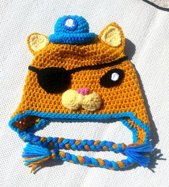 Octonauts Hat Boys Clothes Kids Clothes Halloween Costume Kids Costumes Childrens Clothing Childrens Cloth Crochet Costumes Crochet Kids Hats Crochet For Boys