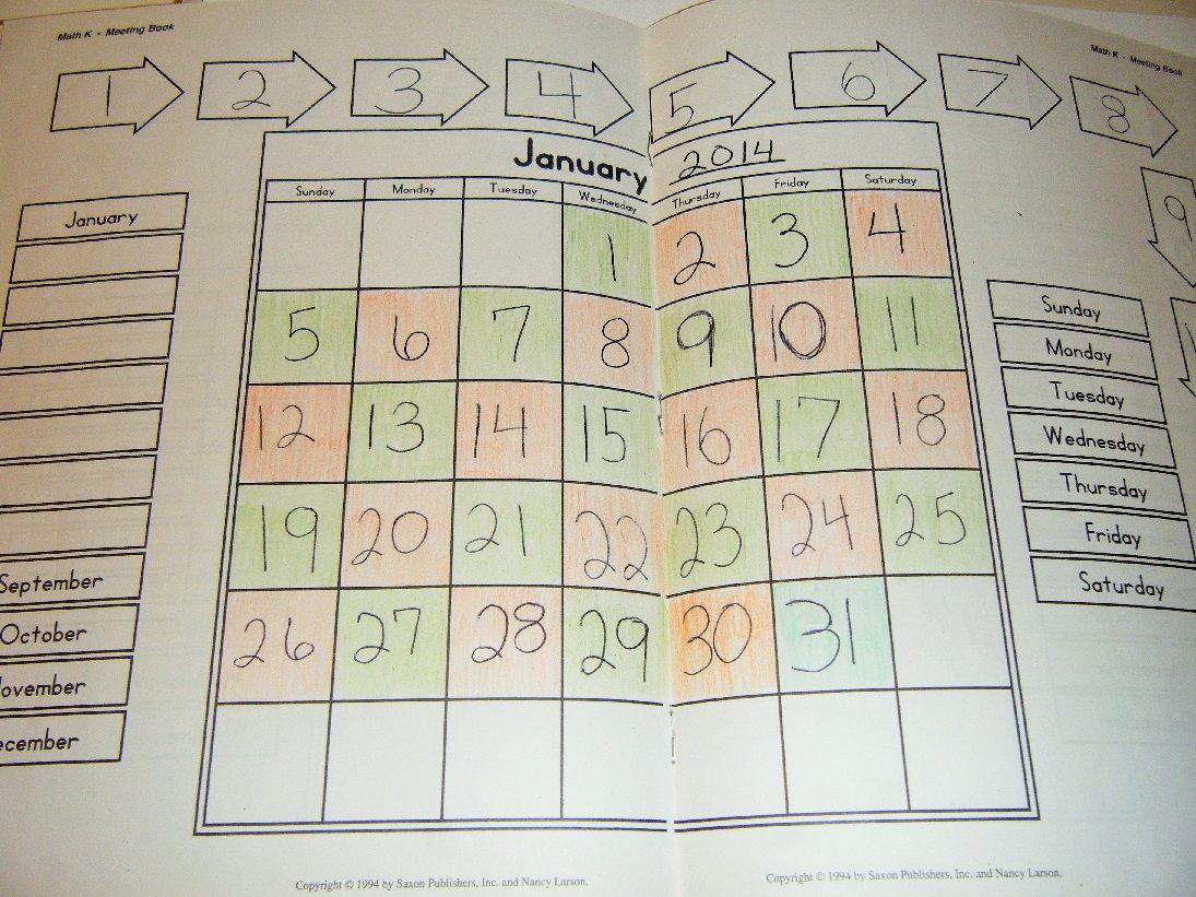 Kindergarten Saxon Math Review The Curriculum Choice Saxon Math Math Meeting Math Kindergarden [ 821 x 1095 Pixel ]