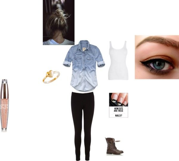 """school"" by yaoifan on Polyvore"
