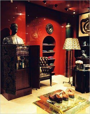 Interior Design Pictures Dries Van Noten Mens Store In Paris