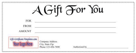 Lots of free gift certificate templates Crafts_Not A Card1 - free template for gift certificate