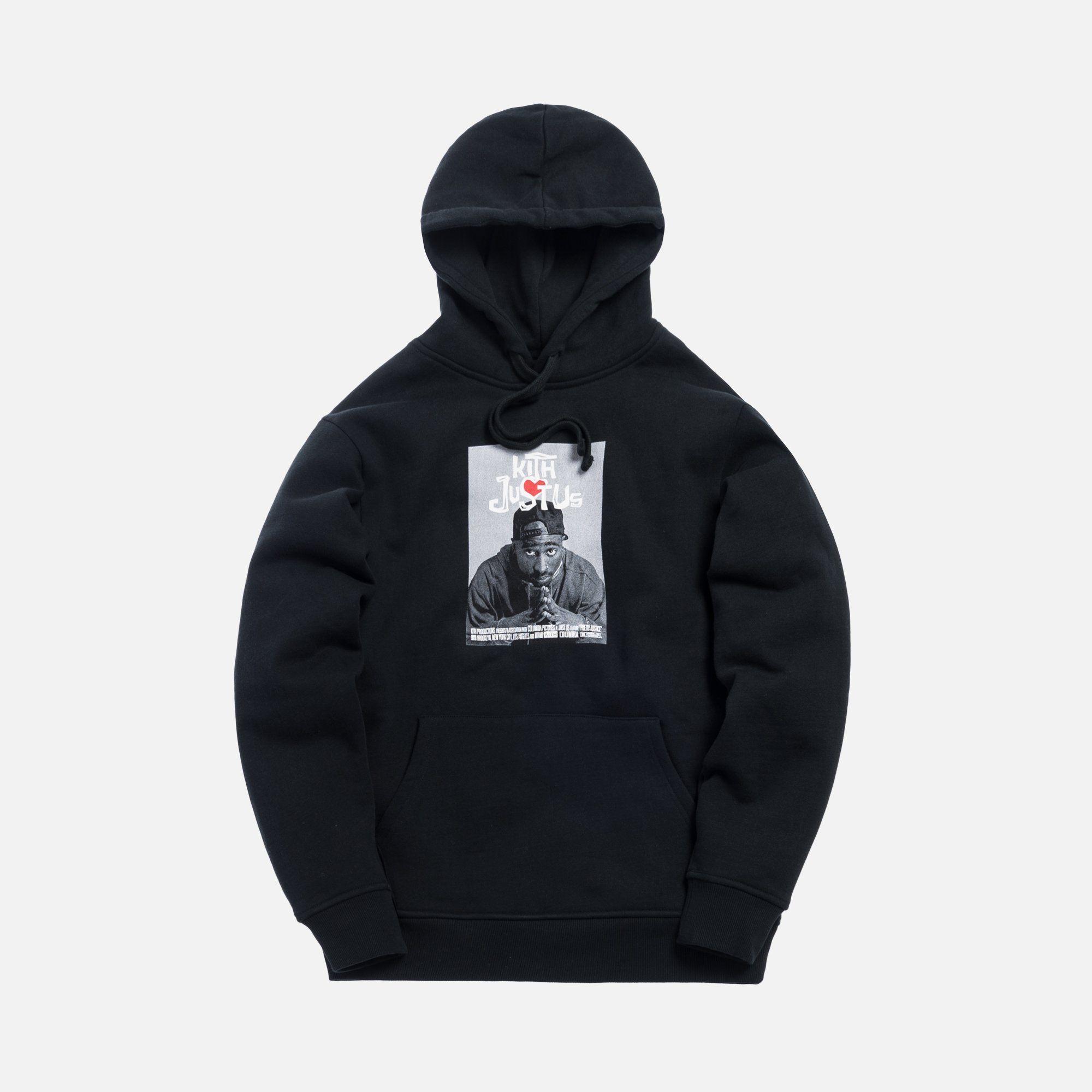 Kith X Poetic Justice Hoodie Black