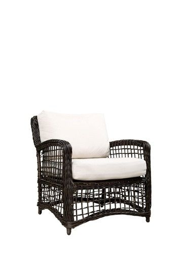 Outdoor Concepts Rope Weave Lounge Chair - Espresso