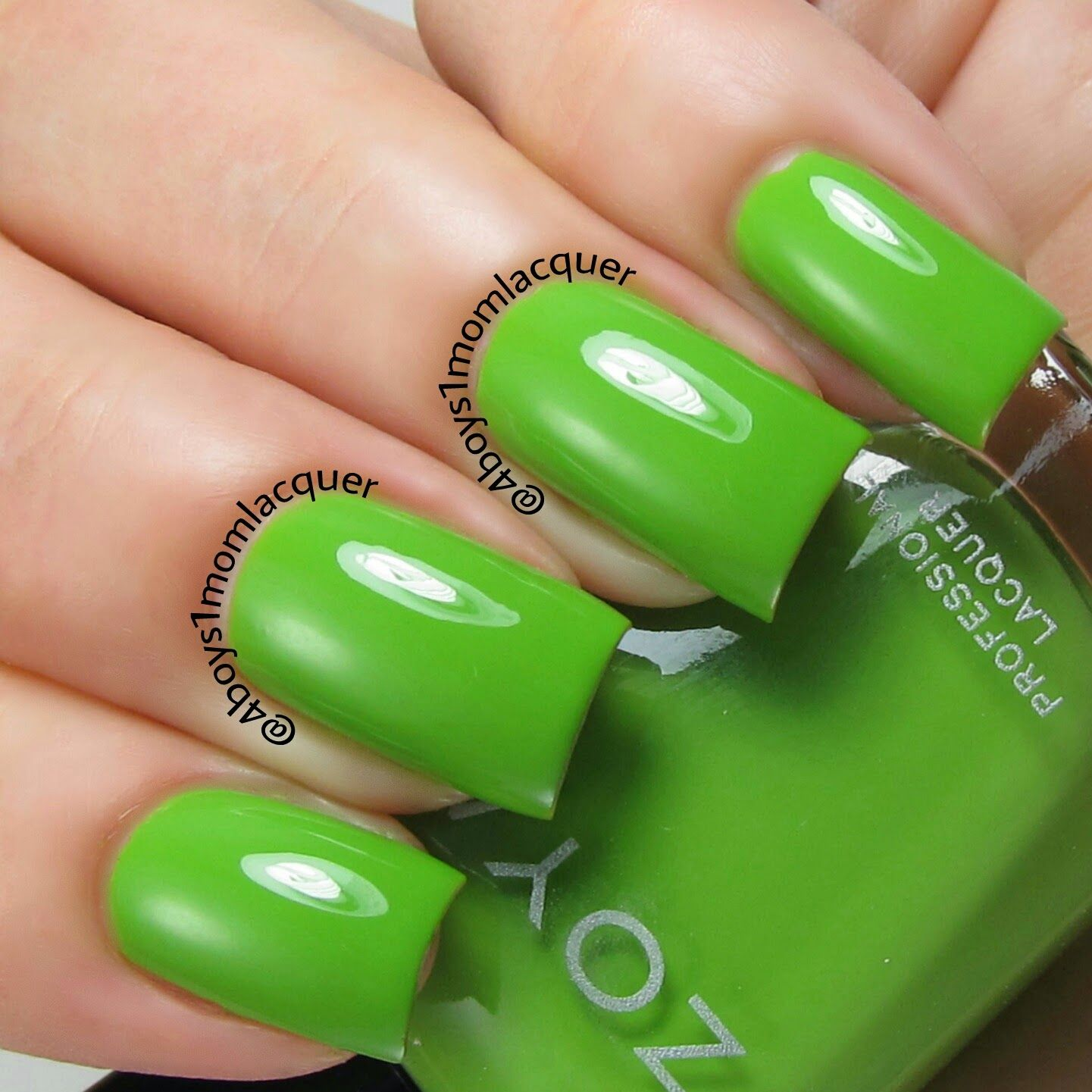 Mantis Green Nail Polish Love! Zoya Tilda from the Zoya Tickled ...