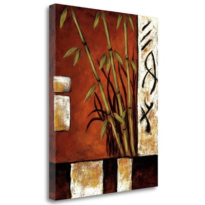 Tangletown Fine Art 'Russet Silhouette I' by Krista Sewell Graphic Art on Wrapped Canvas