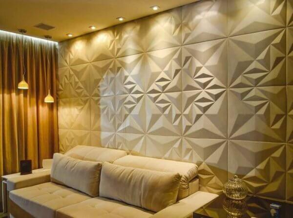 Parede de placas de gesso acartonado 3d para parede de - Placas para decorar paredes ...