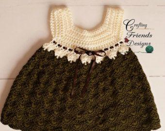 Crochet Pattern: Baby Tay Infant Dress