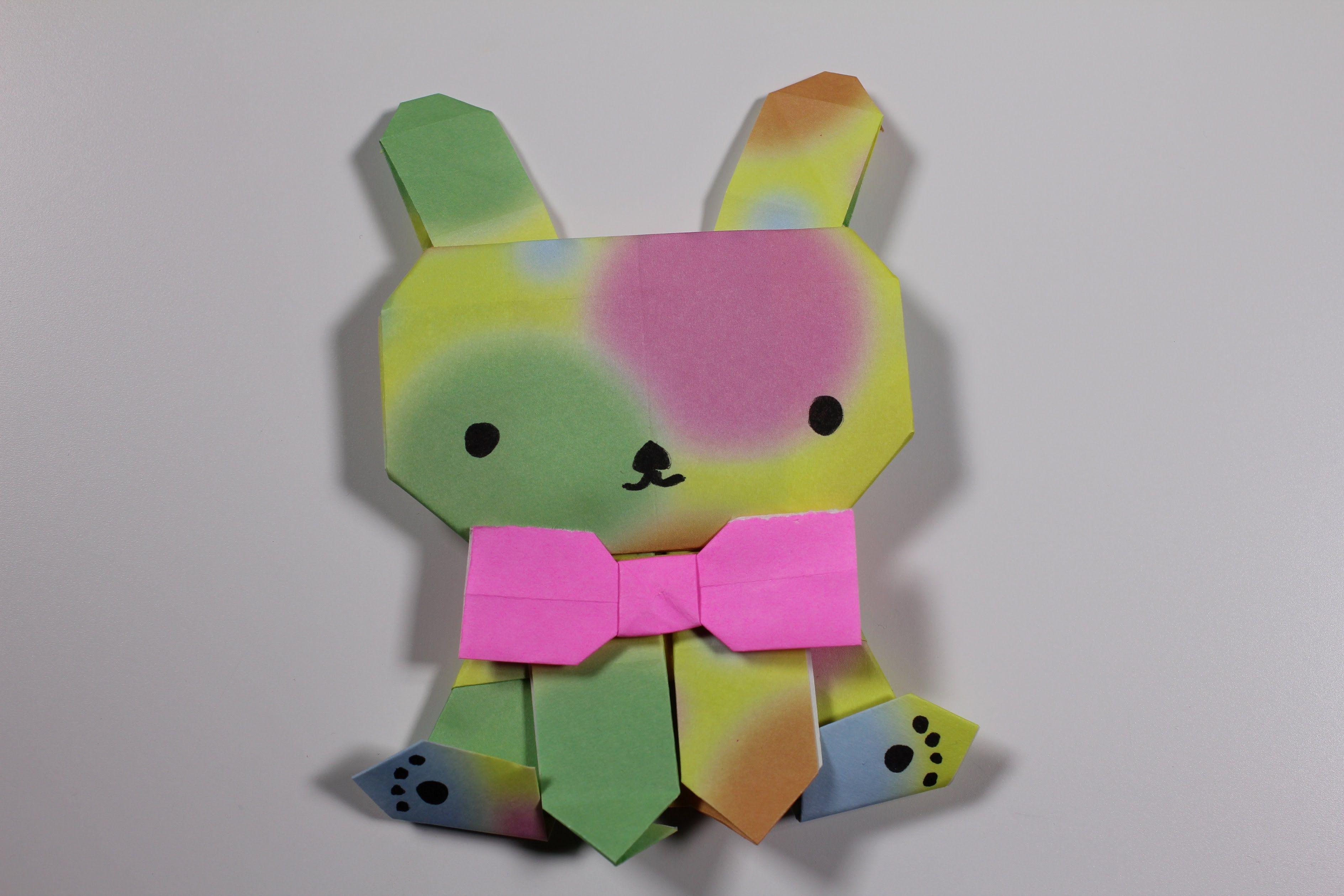 Easy Origami Rabbit 折り紙 可愛い 折り紙 簡単 折り紙 おもちゃ