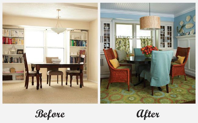 Dining Room Makeover Glamorous Room Makeover  Dining Roomfor More Great Before And After Room 2018