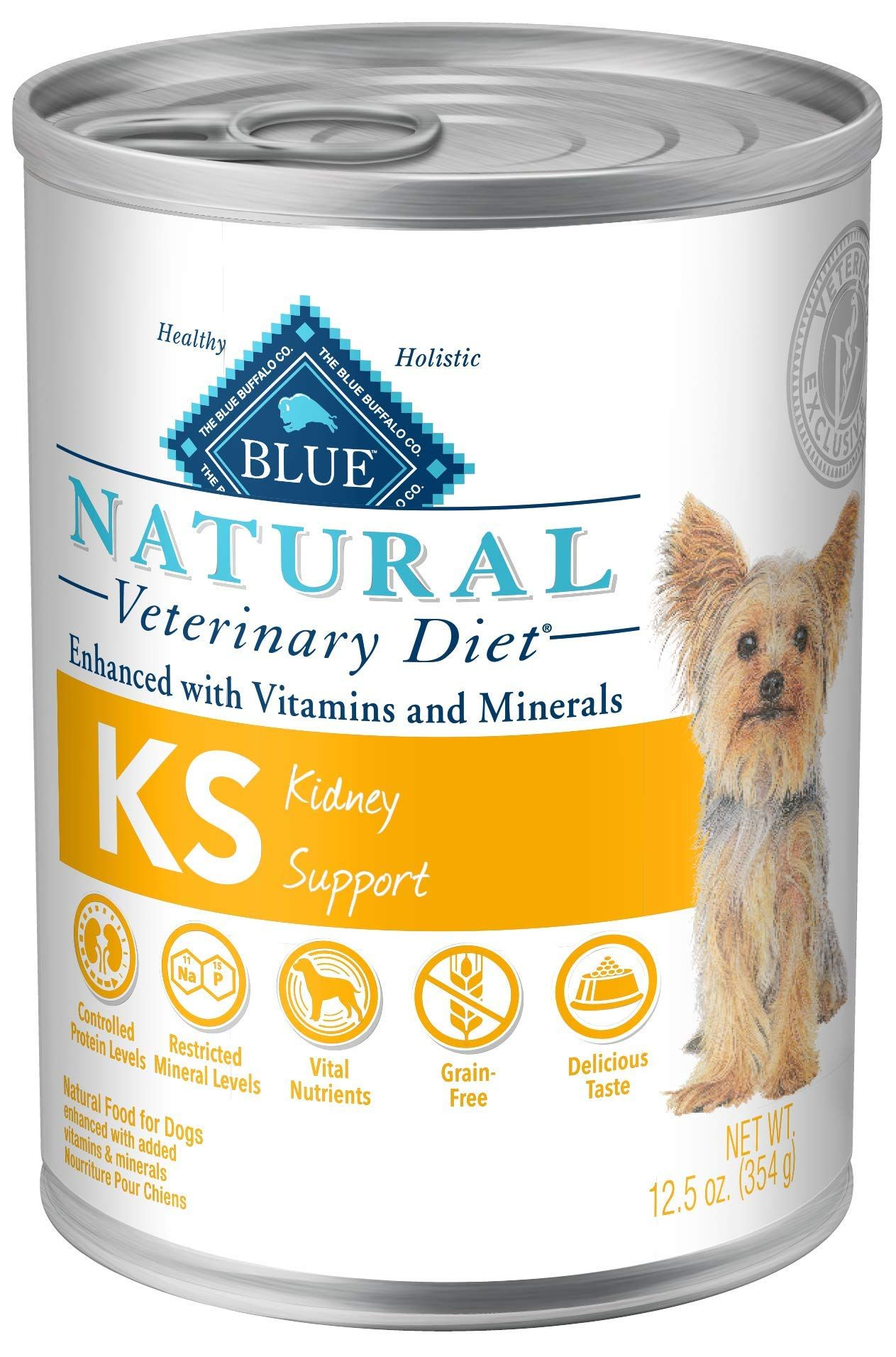 Blue natural veterinary diet support in 2020 dog food