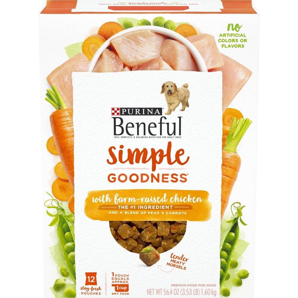Purina Beneful Dry Dog Food Simple Goodness With Farm Raised