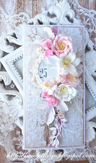 Wiola C Moje Papierowe Hobby Kartka Na Rocznice Slubu Lift Flower Cards Gift Envelope Cardmaking