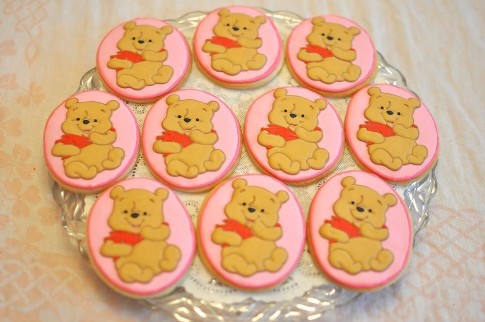 Winnie The Pooh Custom Cookies Cookie Decorating