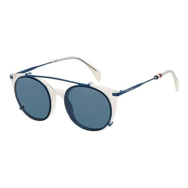 91c6a27bcbe0a Tommy Hilfiger TH 1475 C VK6 99 Sunglasses ( 165) ❤ liked on Polyvore  featuring accessories