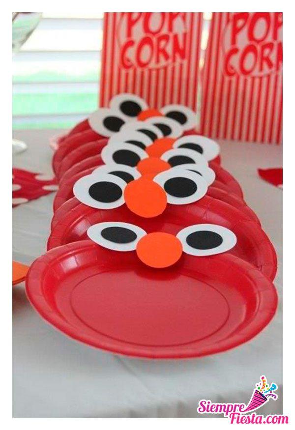 Bonitas ideas para tu pr xima fiesta de elmo consigue - Todo para tu fiesta infantil ...