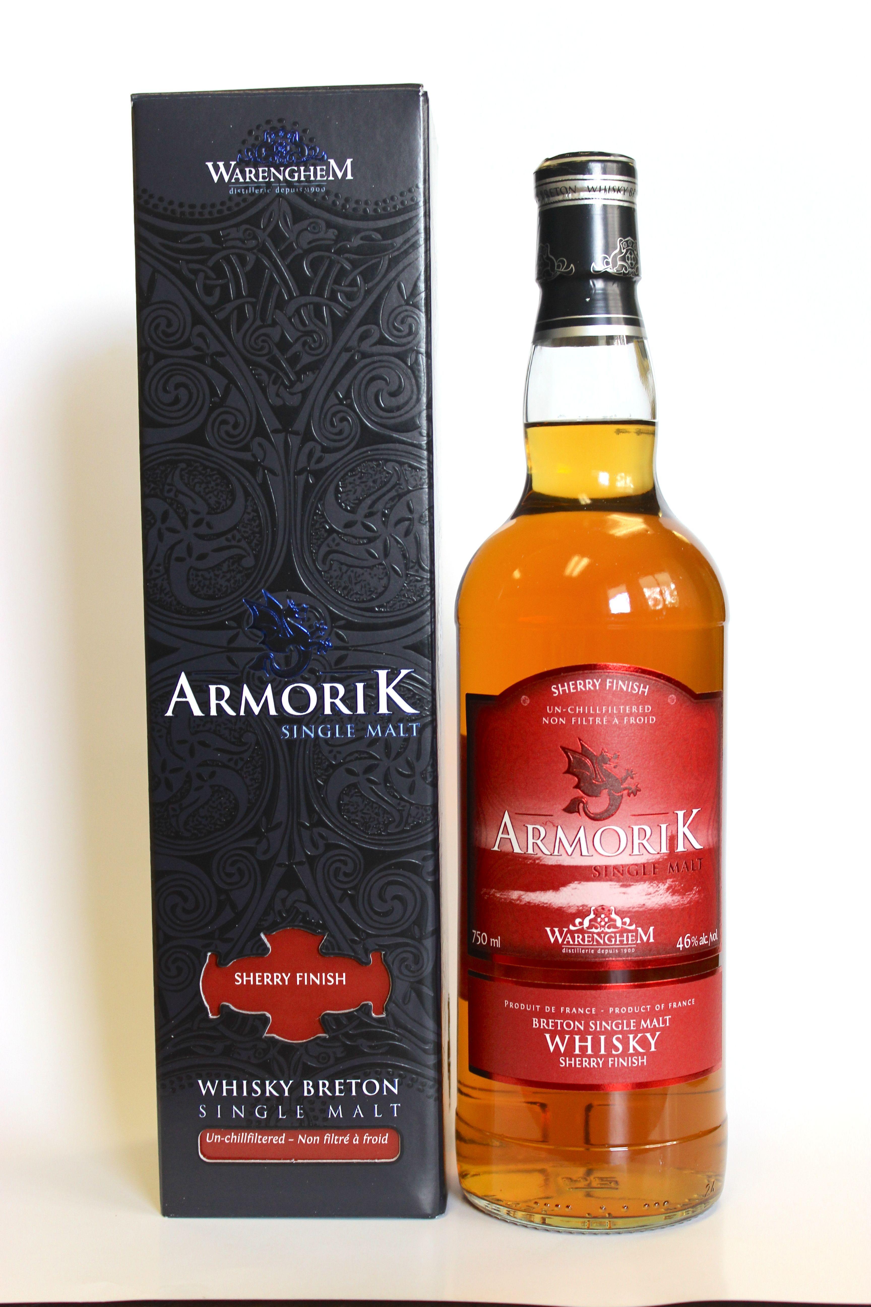 Armorik French Single Malt Whisky Sherry Finish Malt Whisky