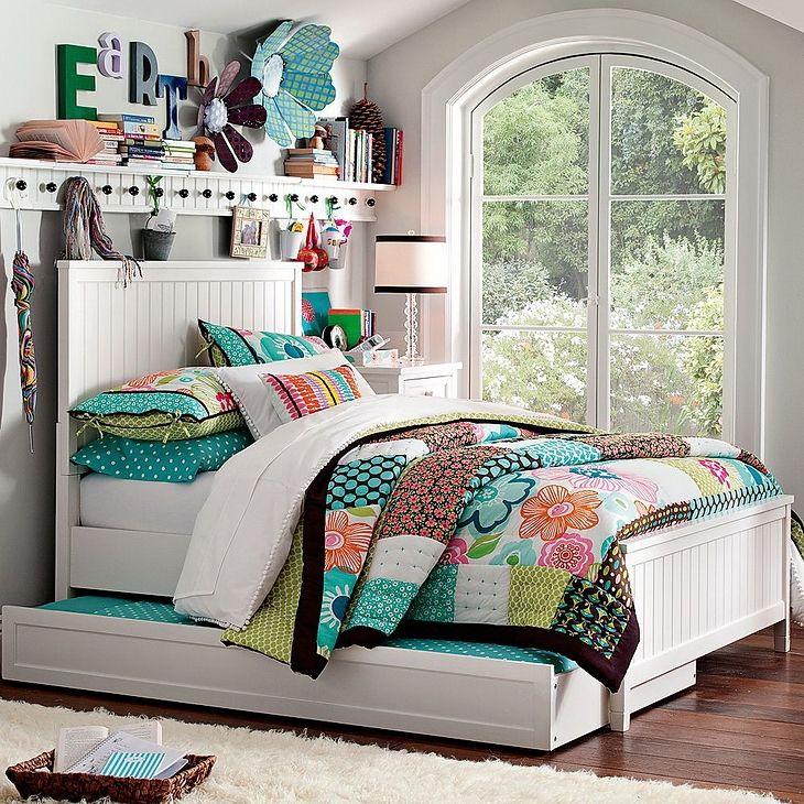 Dormitorio chica adolescente lety dormitorio de chicas - Decoracion habitaciones juveniles nina ...