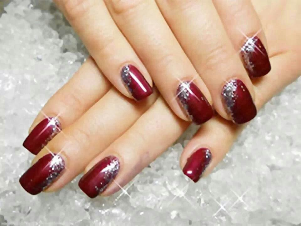 Elegant! | Nails | Pinterest | Elegant, Winter nails and Winter nail ...